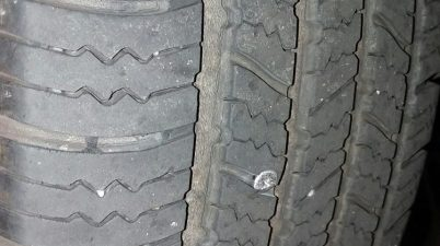screw in tire